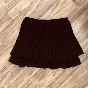Urban Outfitters Black Pleated Skirt